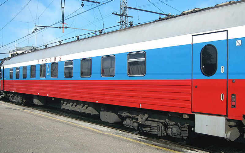 Berühmter russischer Firmenzug Nr. 1/2 (Rossija)