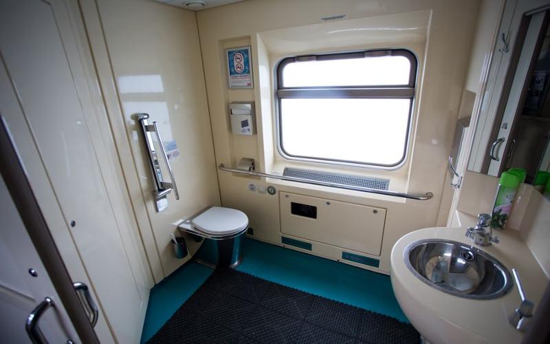 Transsib Toilette