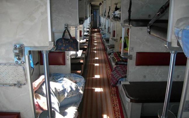 Transsib Wagon der 3. Klasse