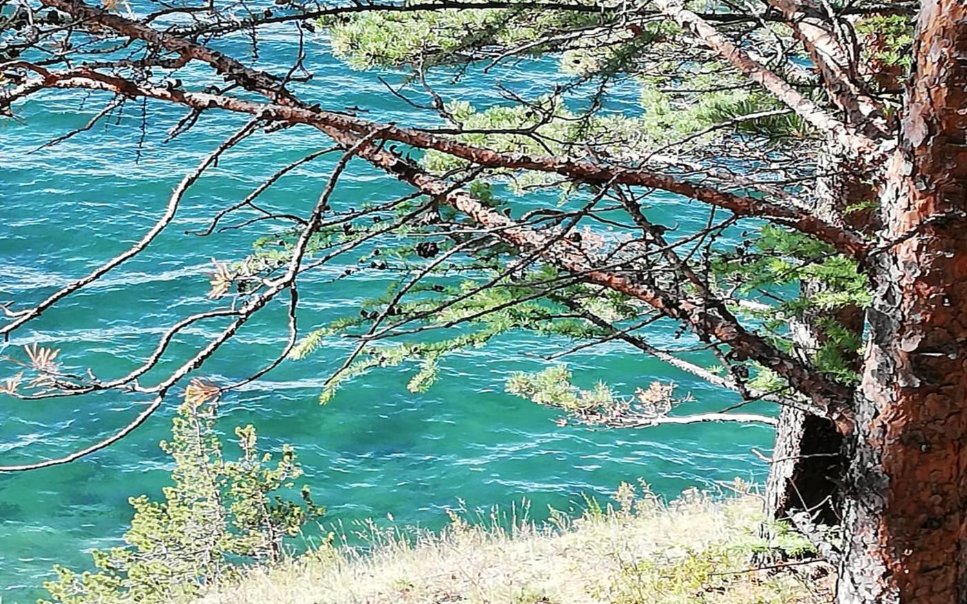 Klares Wasser des Baikalsees