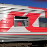 Zug Nr. 306 von Irkutsk nach Ulan Bator