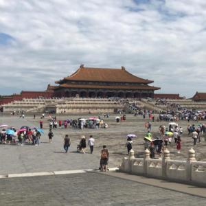 Verbotene Stadt in Peking - Halle der höchsten Harmonie