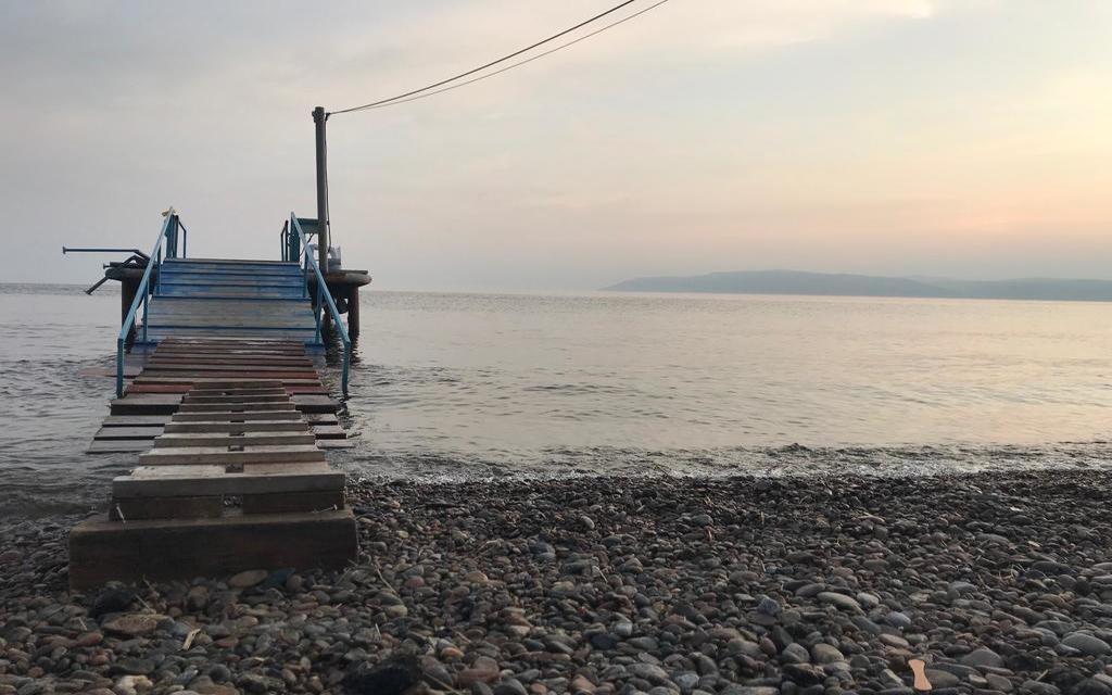 Baikalufer beim Sonnenuntergang