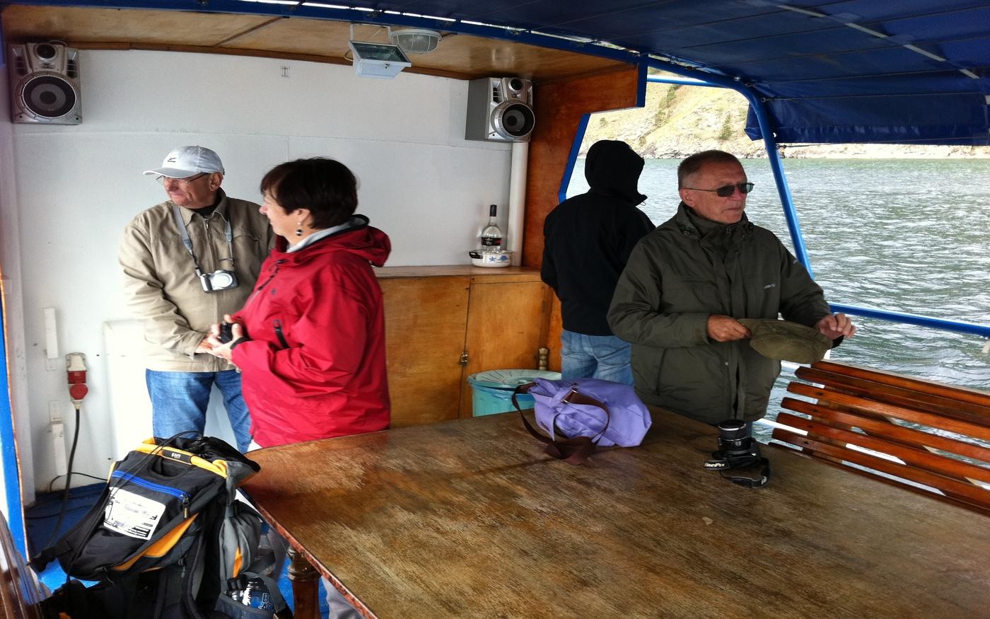 Gruppenreise mit der Transsib - Schifffahrt am Baikalsee
