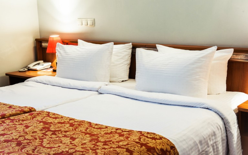 Doppelzimmer im Hotel Imperia in Irkutsk