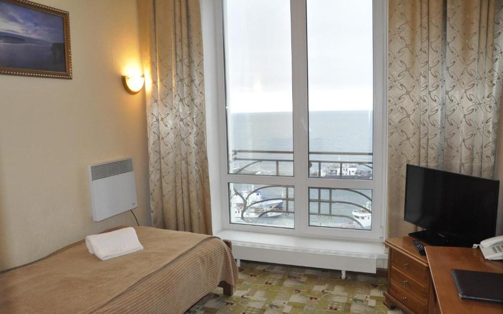Einzelzimmer im Hotel Mayak in Listwianka