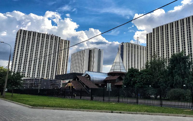 Moskau, Hotel Izmailovo