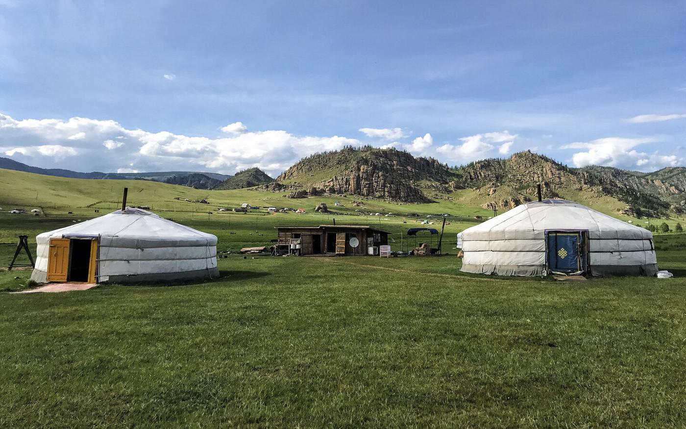Mongolei - im Land der Nomaden