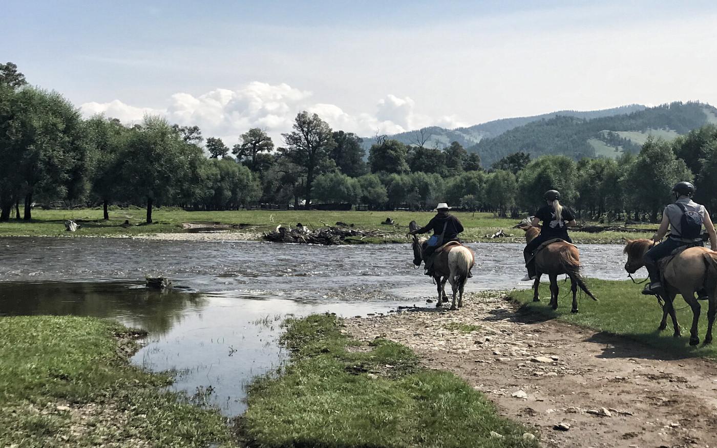 Reit-Expedition in der Mongolei