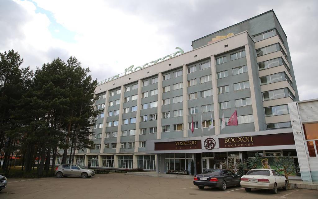 Komsomolsk, Hotel Voskhod
