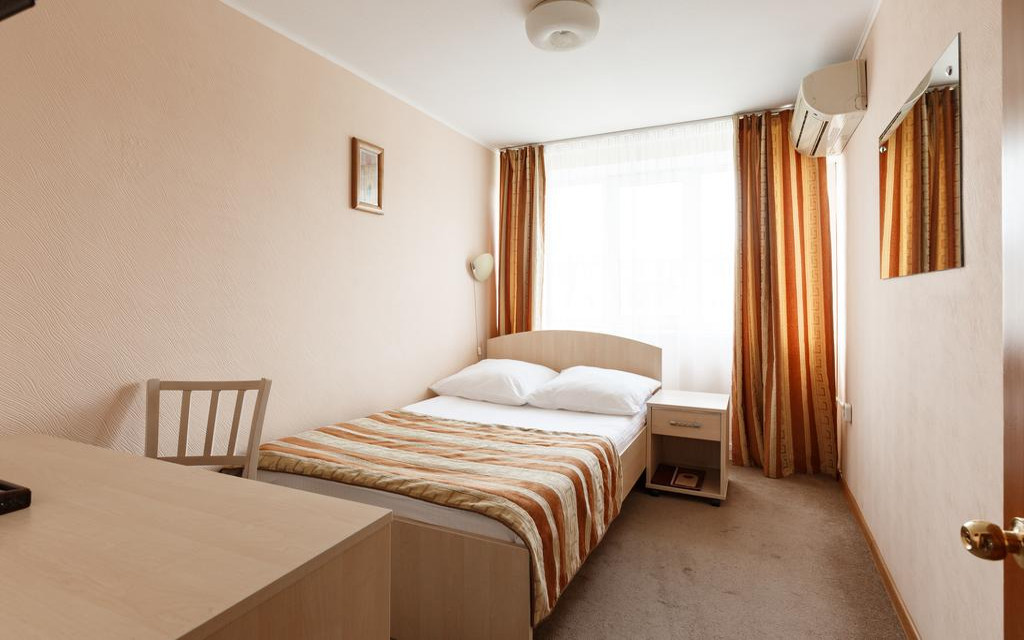 Hotel Voskhod in Komsomolsk / Amur, Einzelzimmer
