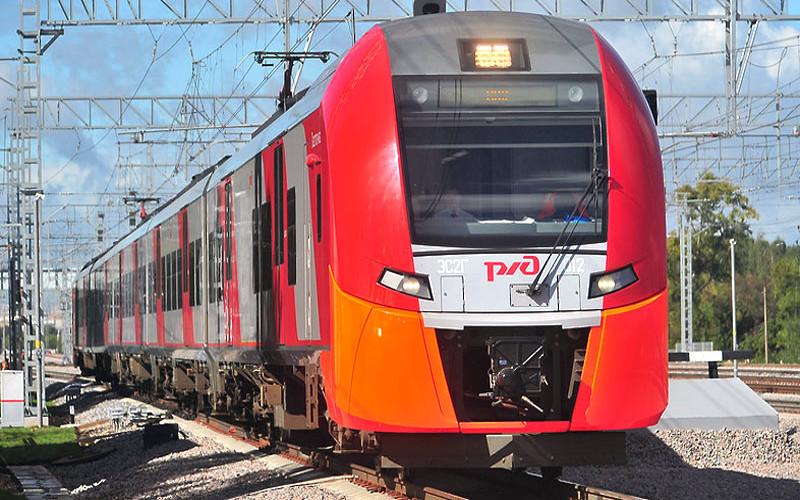 Russischer Zug Lastotschka von Moskau nach Nischni Nowgorod