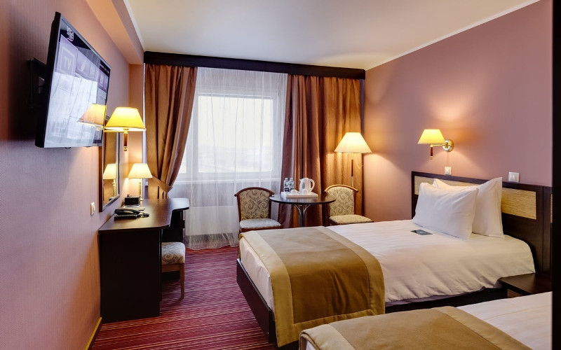 Twin im Hotel Izmailovo in Moskau