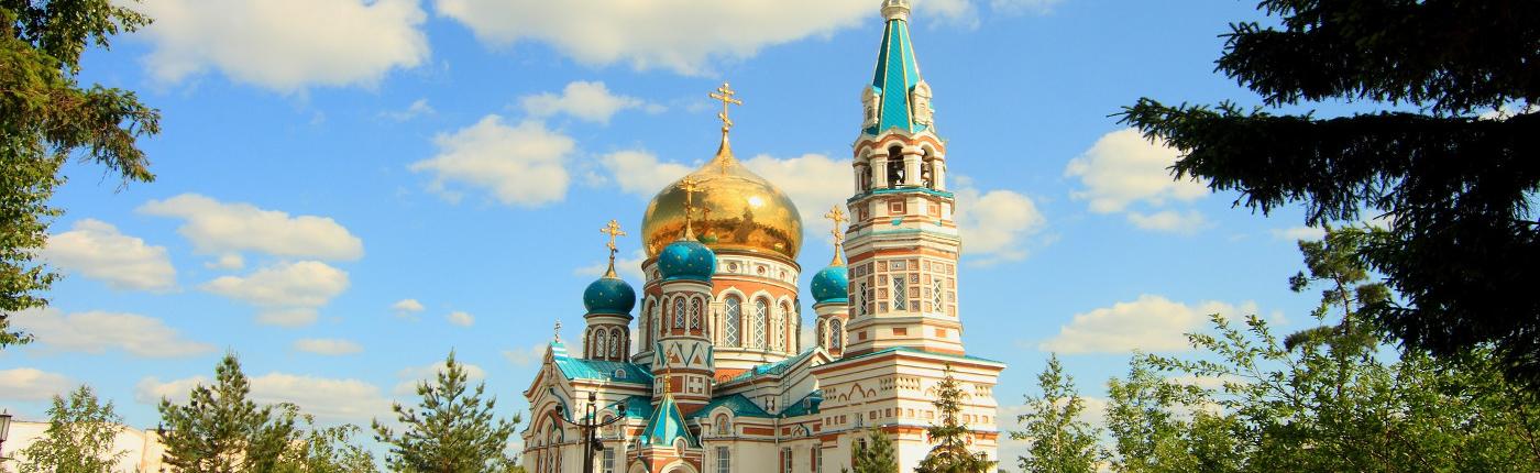 Uspenskiy Kathedrale in Omsk