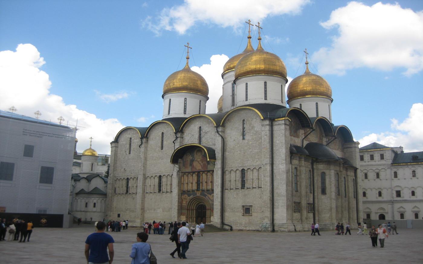 Moskau - Mariä-Entschlafens-Kathedrale