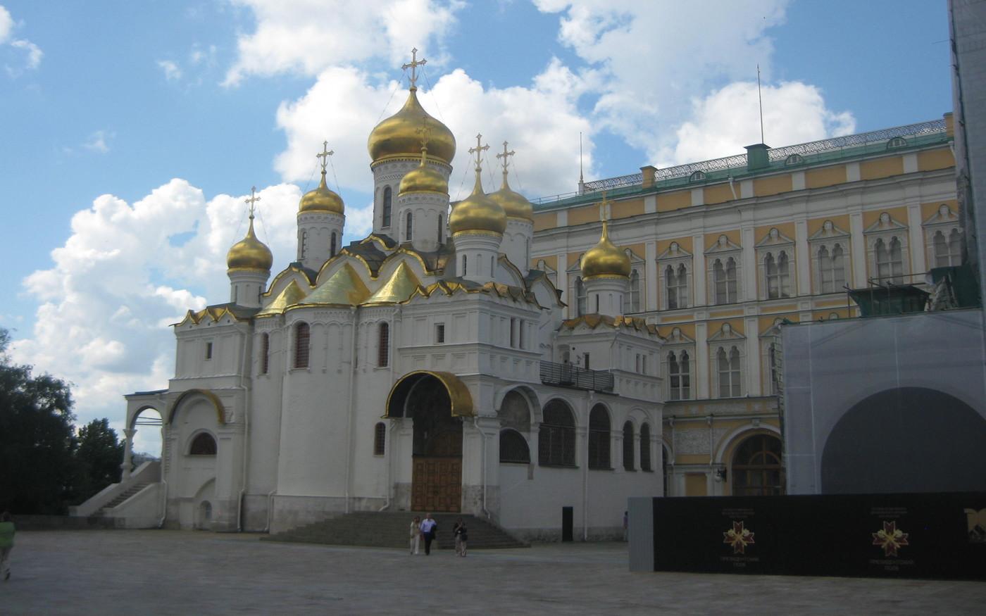 Mariä-Verkündigungs-Kathedrale auf dem Moskauer Kreml