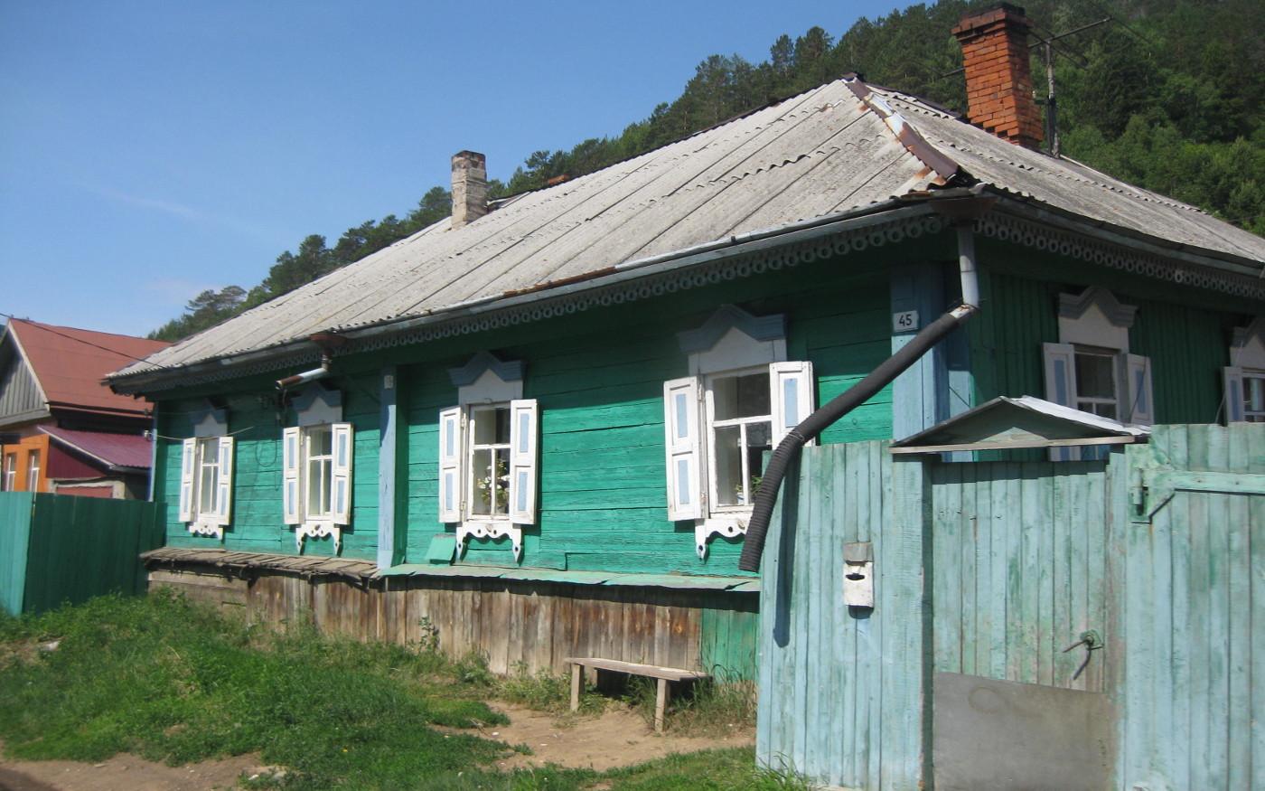 Die russische Holzarchitektur am Baikalsee