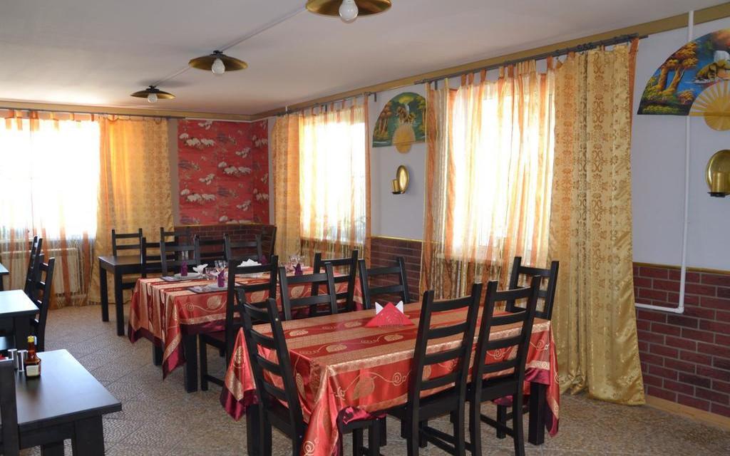 Restaurant im Hotel Aurora in Sewerobaikalsk