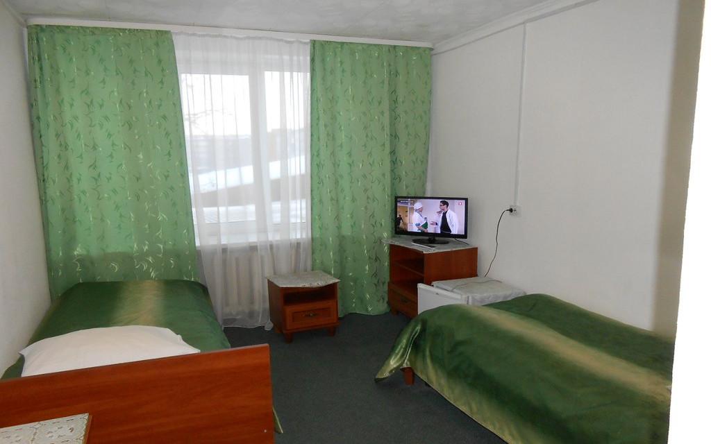 Hotel Biryusa in Tajschet, Doppelzimmer