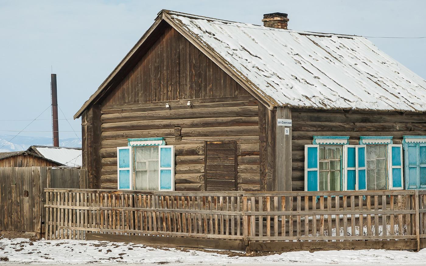Winterliches Sibirien