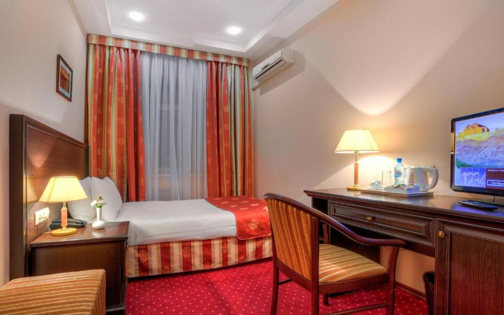 Hotel Baikal Plaza in Ulan Ude, Einzelzimmer