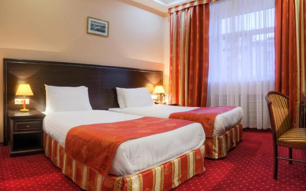 Twin im Hotel Baikal Plaza in Ulan Ude