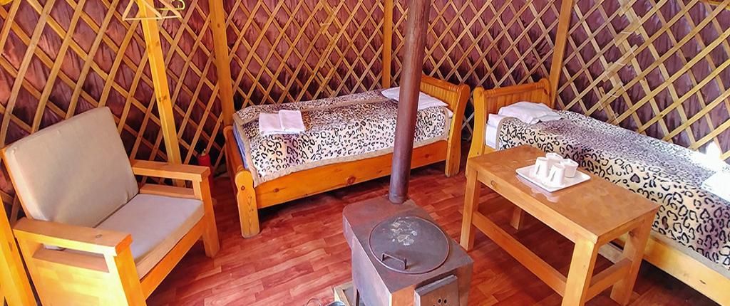 Übernachtung in einer mongolischen Jurte