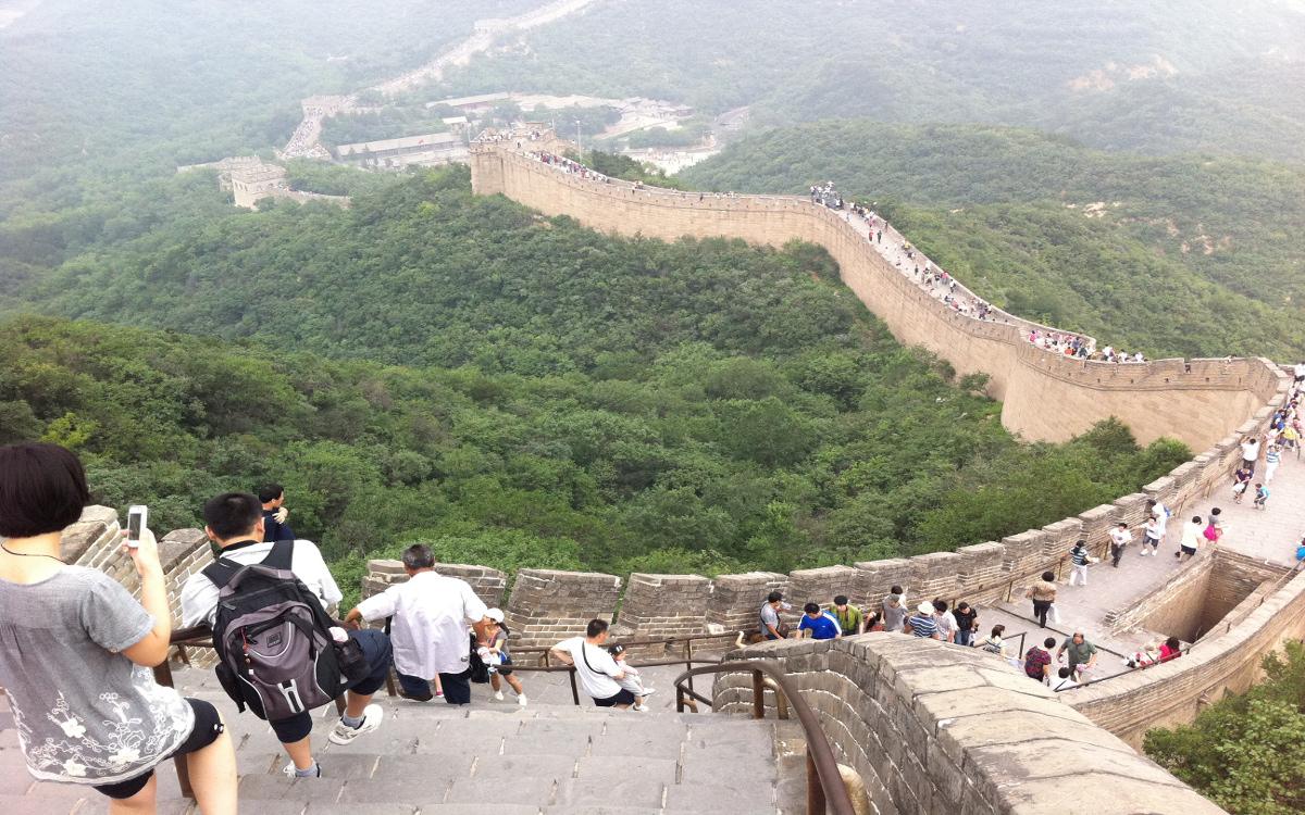 Ausflug ab Peking - Große Chinesische Mauer