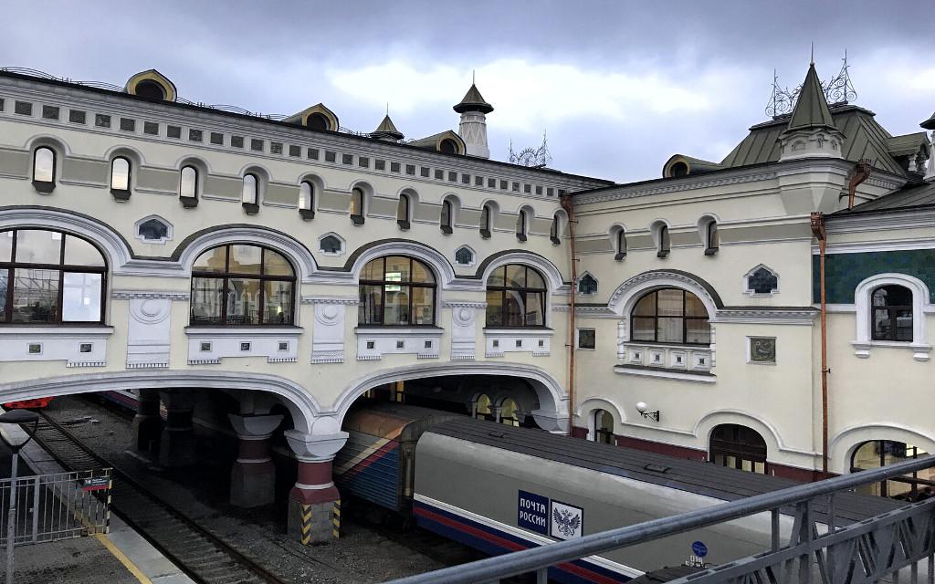 Der Bahnhof in Wladiwostok
