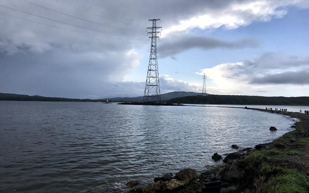 Wladiwostok Bucht-Panorama