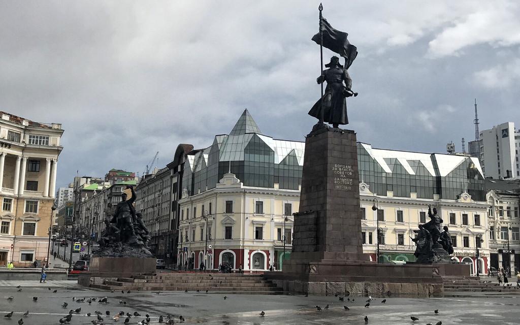 Die Altstadt von Wladiwostok