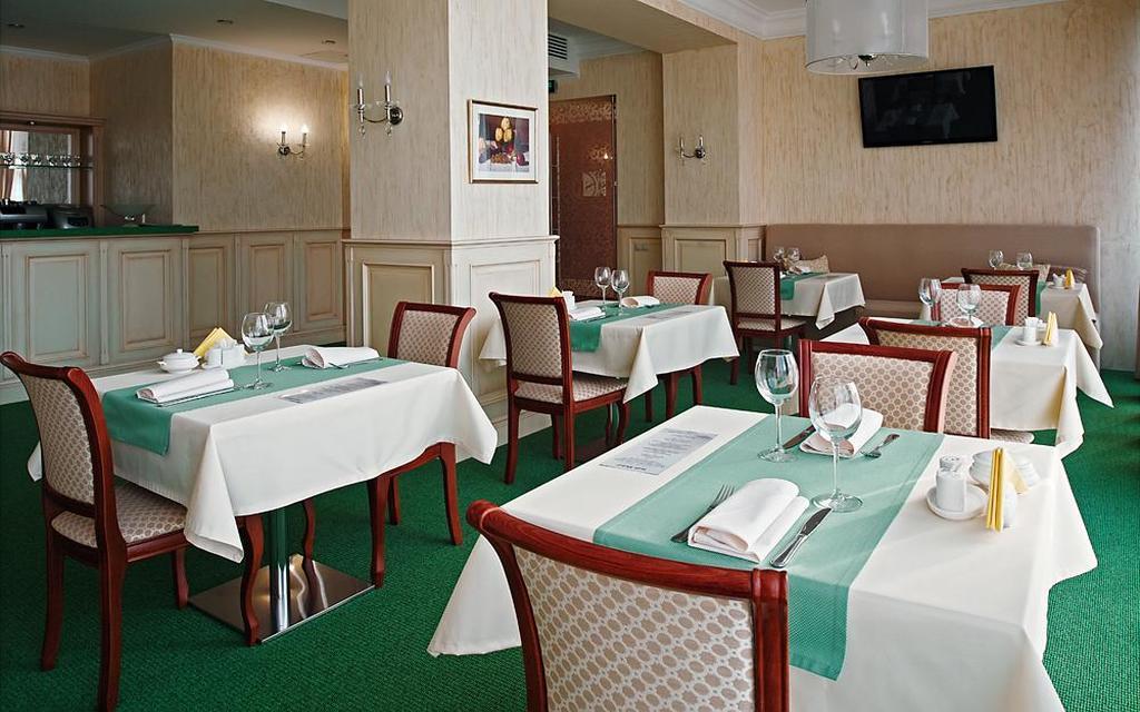 Restaurant im Hotel Soft in Krasnojarsk