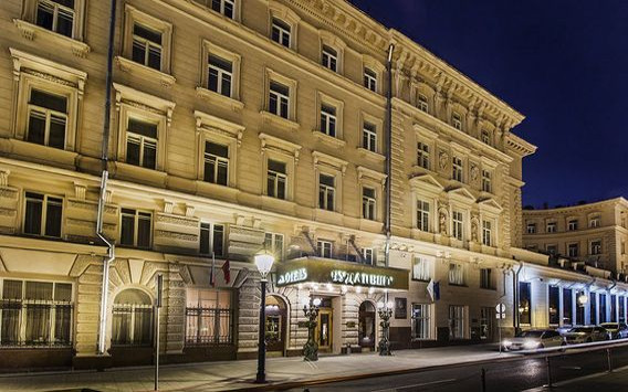 Moskau, Hotel Budapest