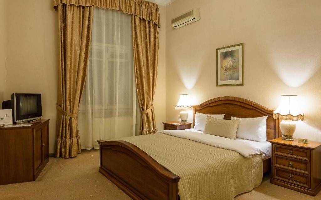 Doppelzimmer im Hotel Budapest in Moskau