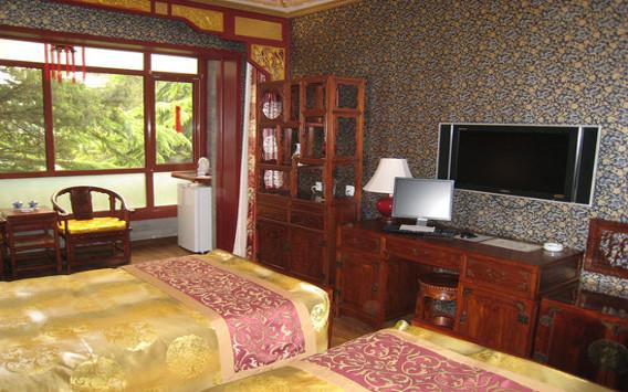 Doppelzimmer im Hotel Bamboo Garden