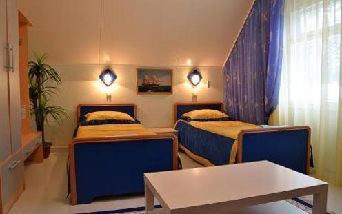 Doppelzimmer im Hotel Zolotaya Rybka in Sewerobaikalsk
