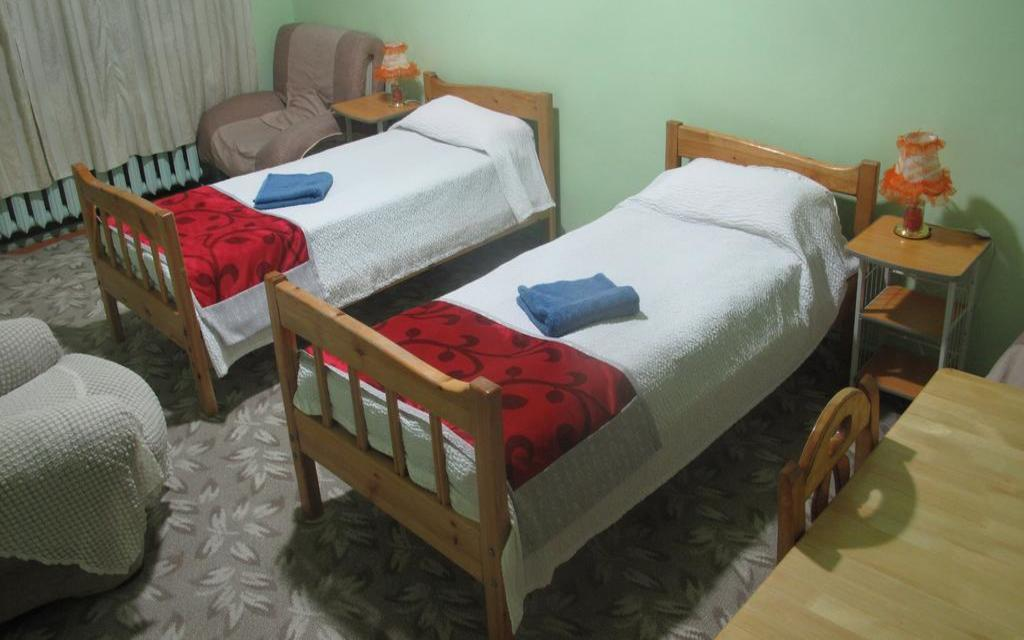 Twin im Hostel LG in Ulan Bator