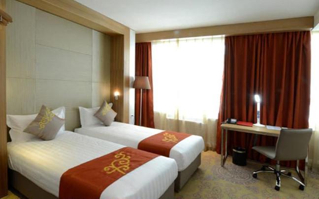 Doppelzimmer im Hotel Nine in Ulan Bator