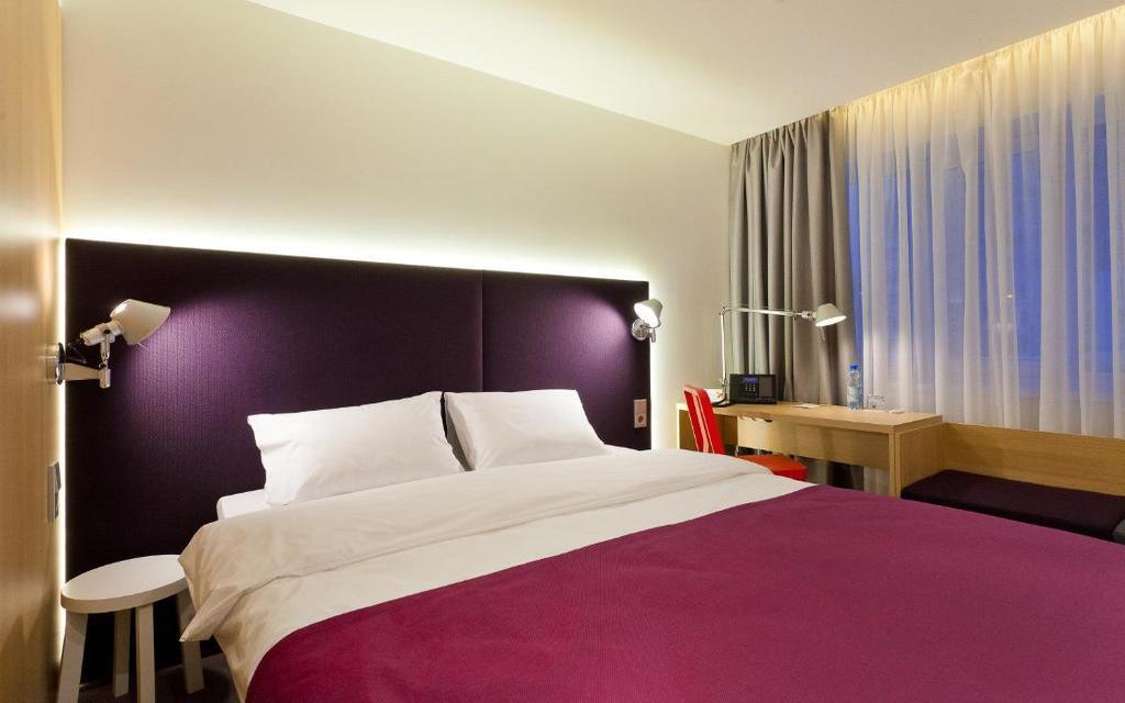 Doppelzimmer im Hotel Azimut in Wladiwostok