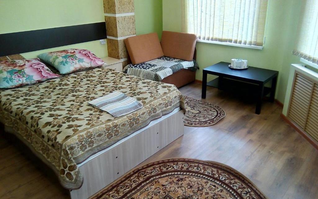 Doppelzimmer im Hostel Filin i Sova in Wladiwostok