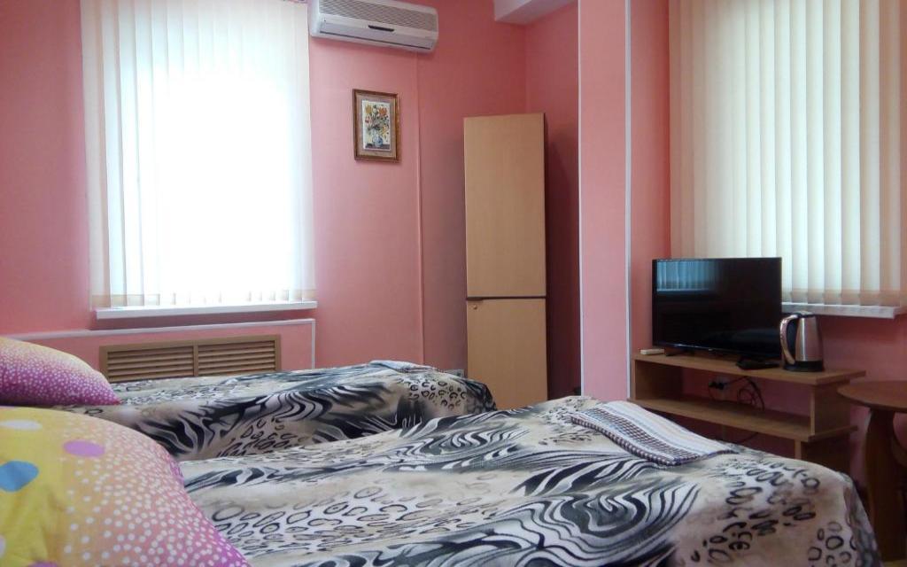 Zweibettzimmer im Hostel Filin i Sova in Wladiwostok