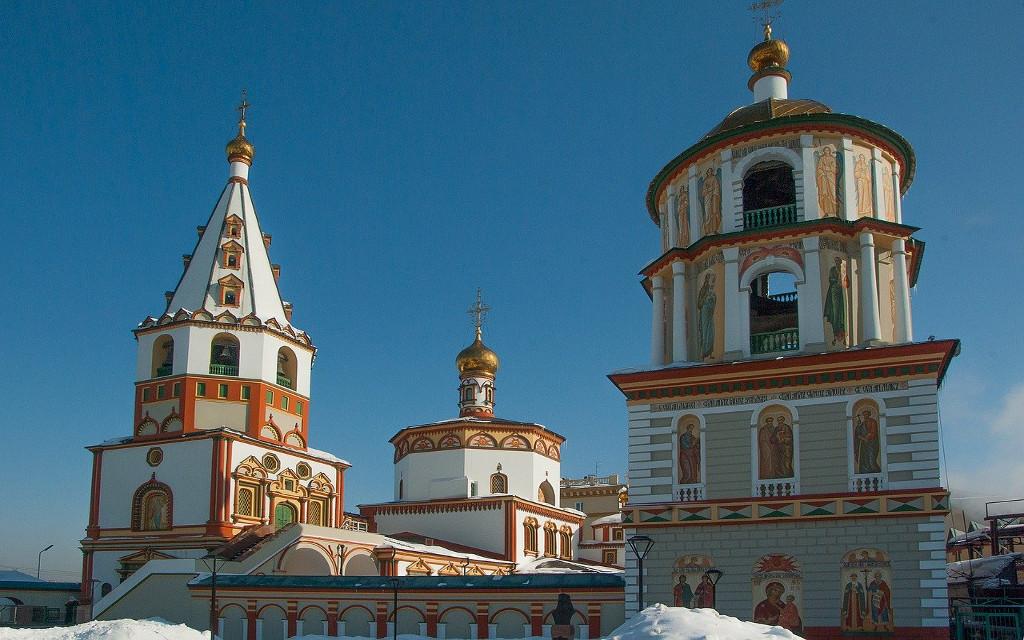 Irkutsker Kirchen und Kathedralen