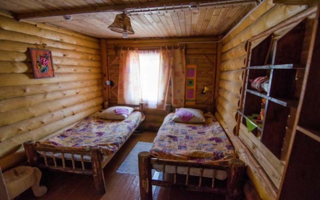 Doppelzimmer im Bencharov Haus auf der Insel Olchon