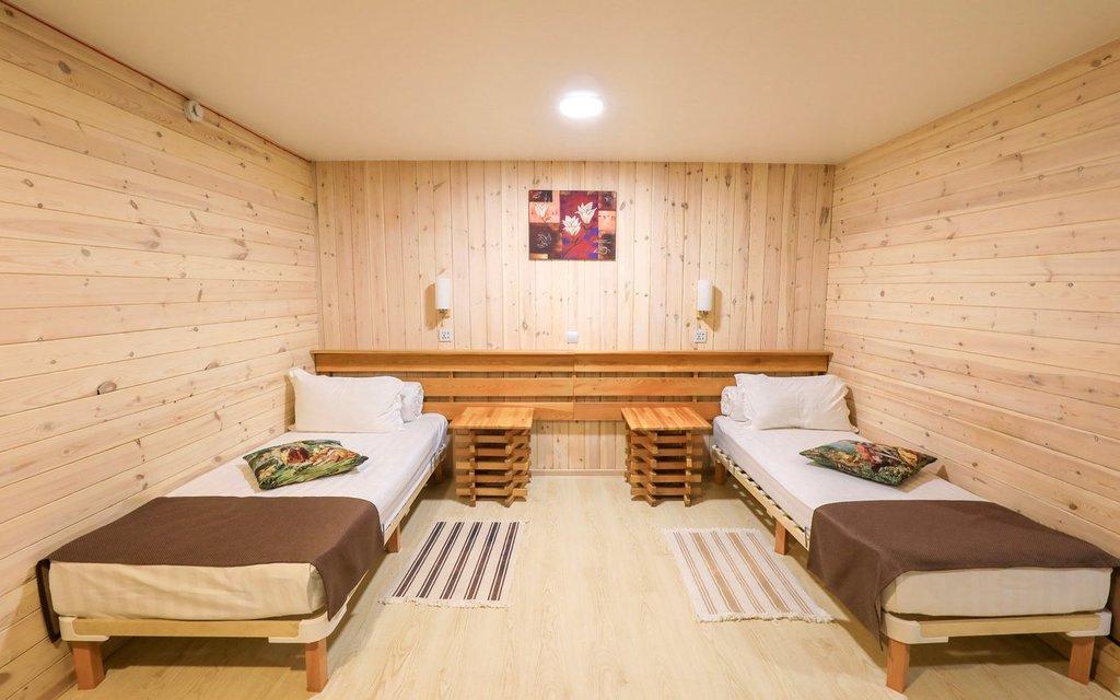 Doppelzimmer in der Villa Malina auf Insel Olchon