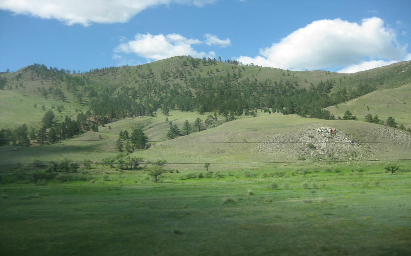 Transsib Landschaften